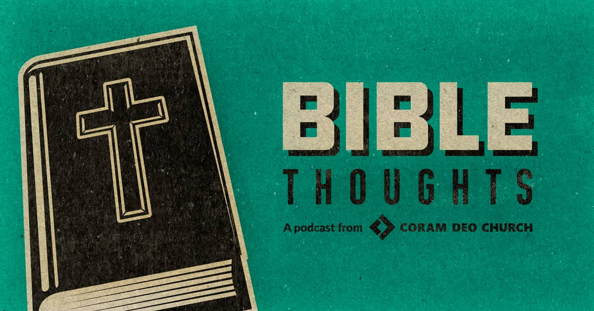 Bible Thoughts