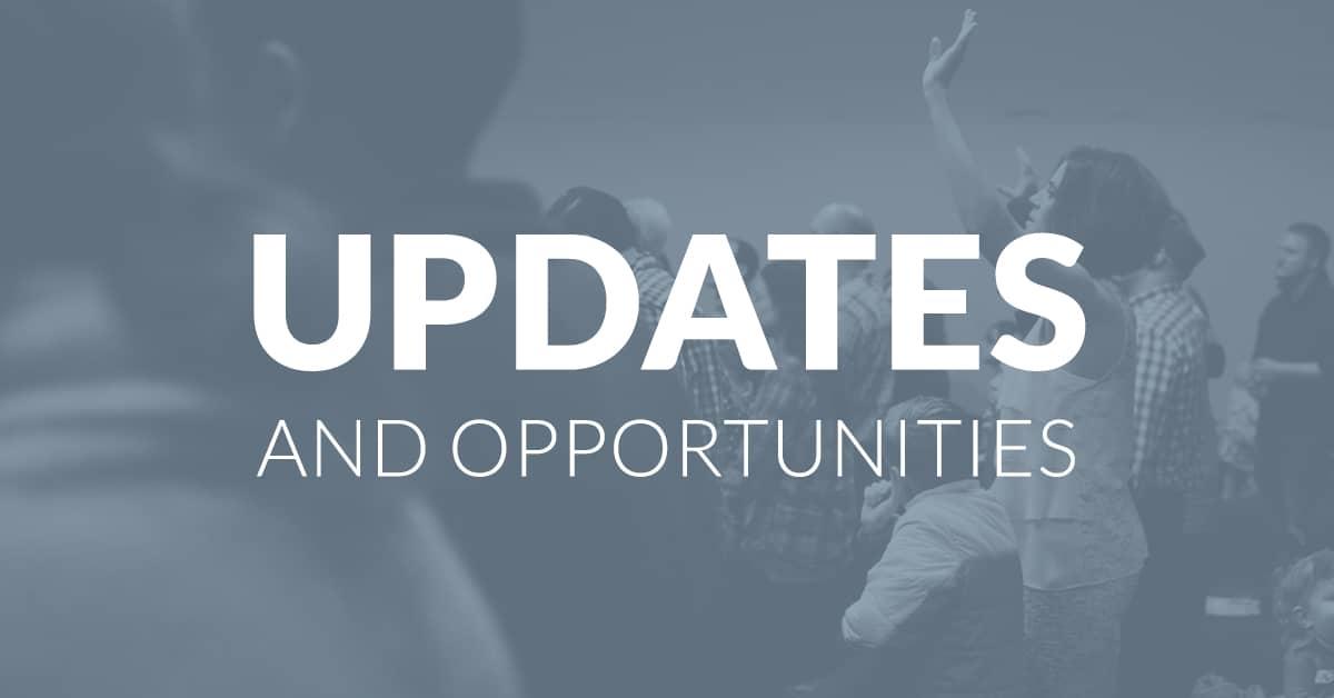 Updates & Opportunities - 10/21/21