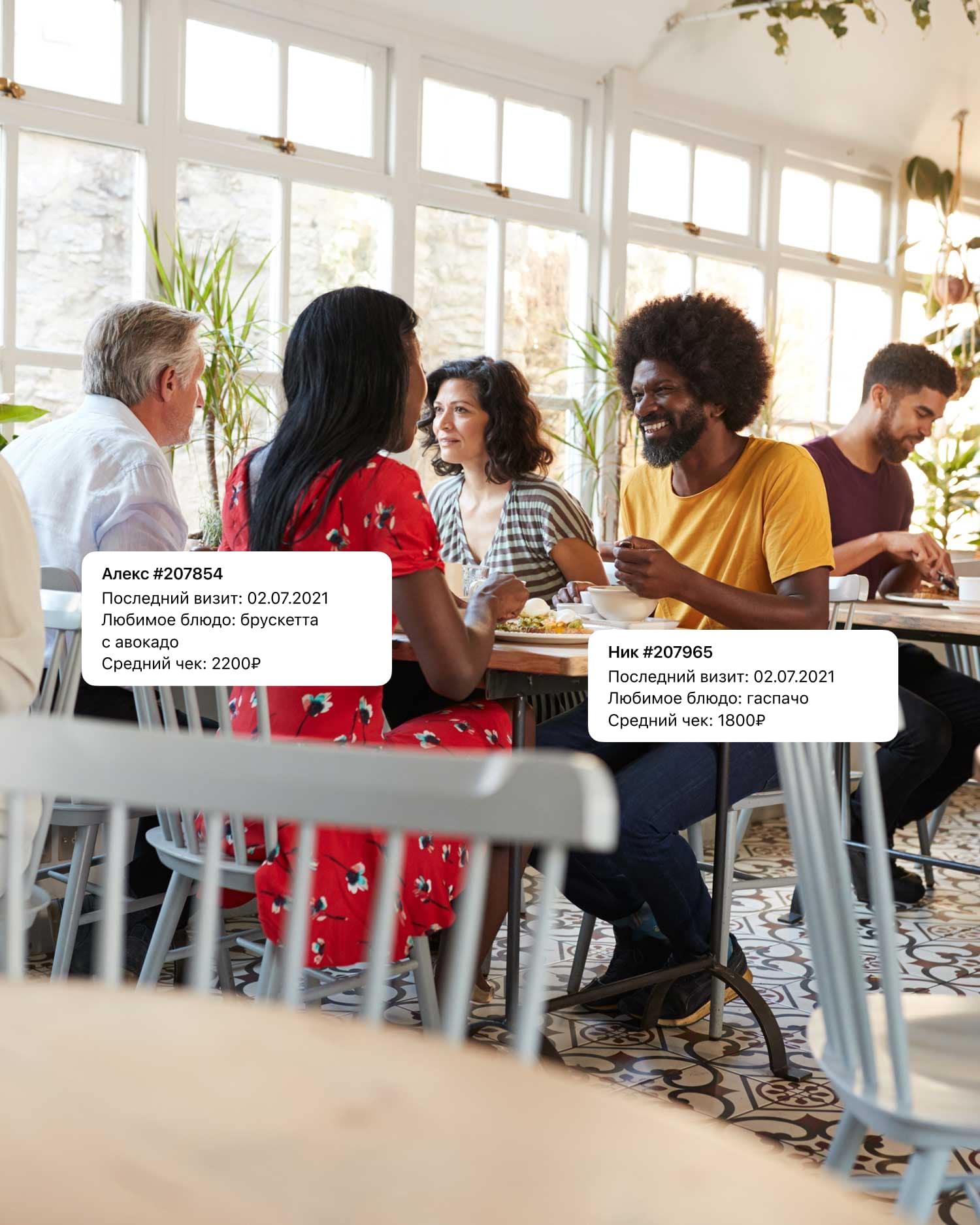 Клиентская база позволяет знать всю информацию о ваших клиентах