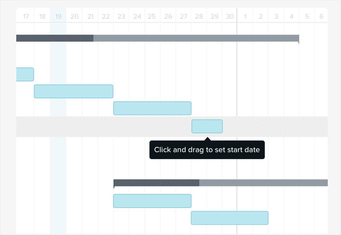 how to make a gantt chart in 5 minutes or less teamgantt