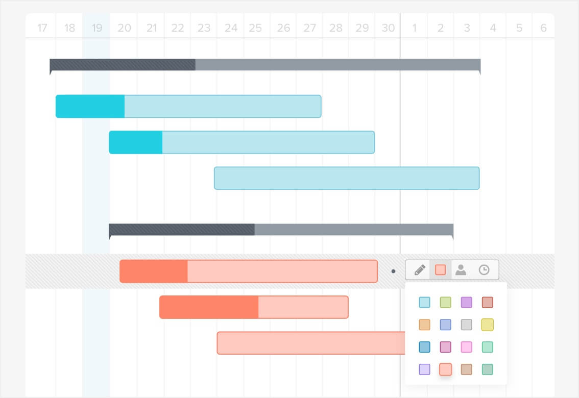 How to Make a Gantt Chart in 5 Minutes or Less | TeamGantt