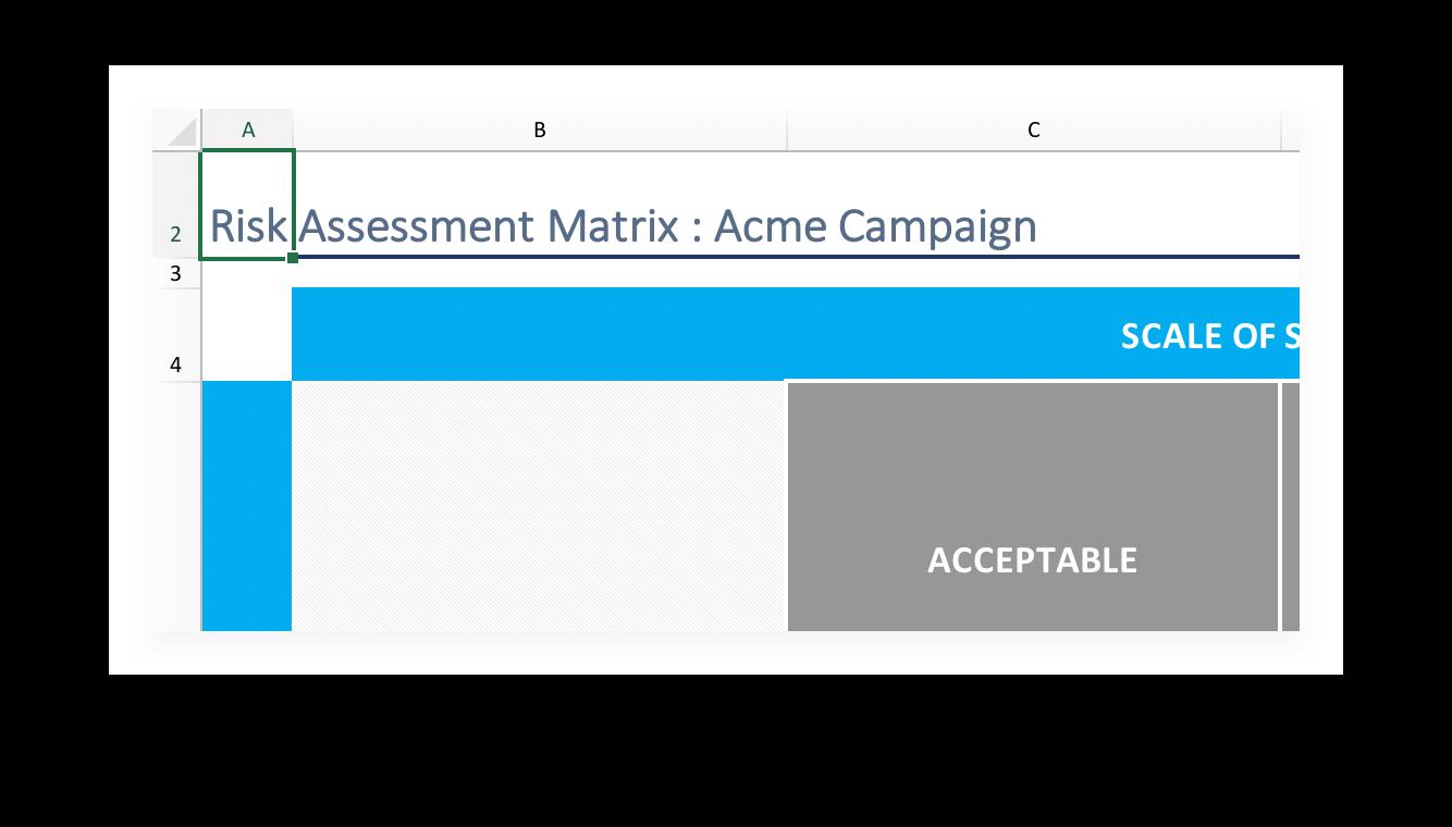 Risk assessment matrix template download now teamgantt enter a new title for your risk assessment matrix maxwellsz