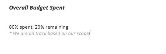 Status Report Sample   Project Status Report Template And Status Report Examples Teamgantt