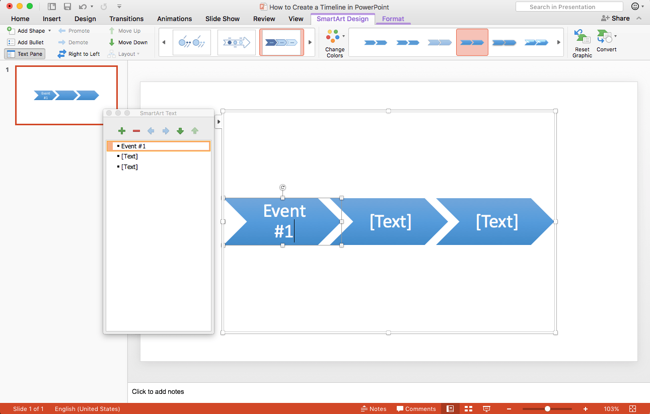 how to create a timeline in powerpoint in 5 steps teamgantt