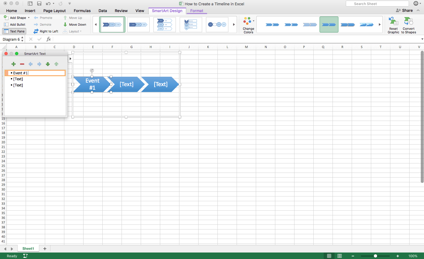 how to create a timeline in excel template teamgantt
