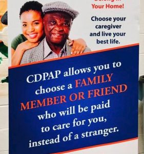 Flier for CDPAP services