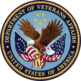 logo for department of VA