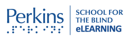 Perkins - school for the blind logo
