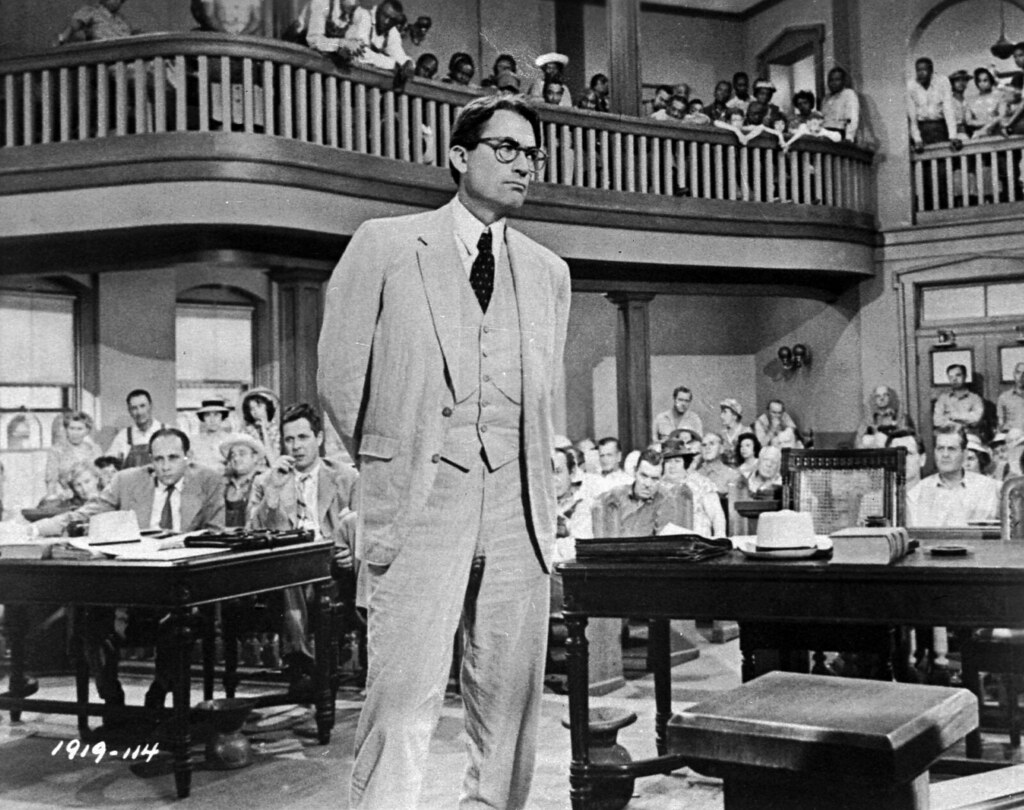 To Kill a Mockingbird | Gregory Peck is shown as attorney At… | Flickr