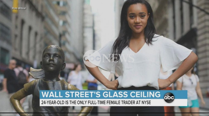 Breaking the glass ceiling on Wall Street