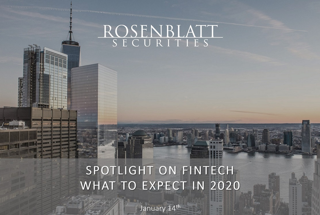 Webinar Replay: FinTech 2020 - What to Expect From Funding, M&A and Market Trends
