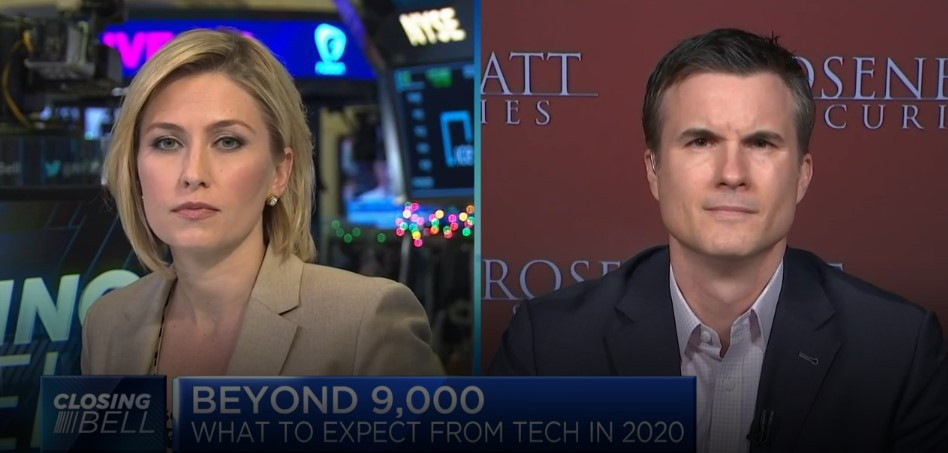 "CNBC's ""Closing Bell"" team breaks down how FANG stocks may fare in 2020"