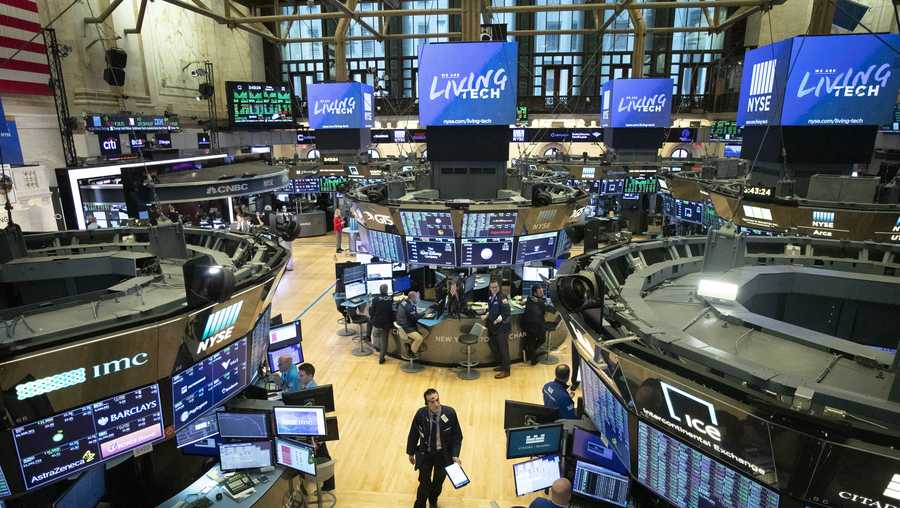 Traders won't be on NYSE floor starting Monday due to COVID-19