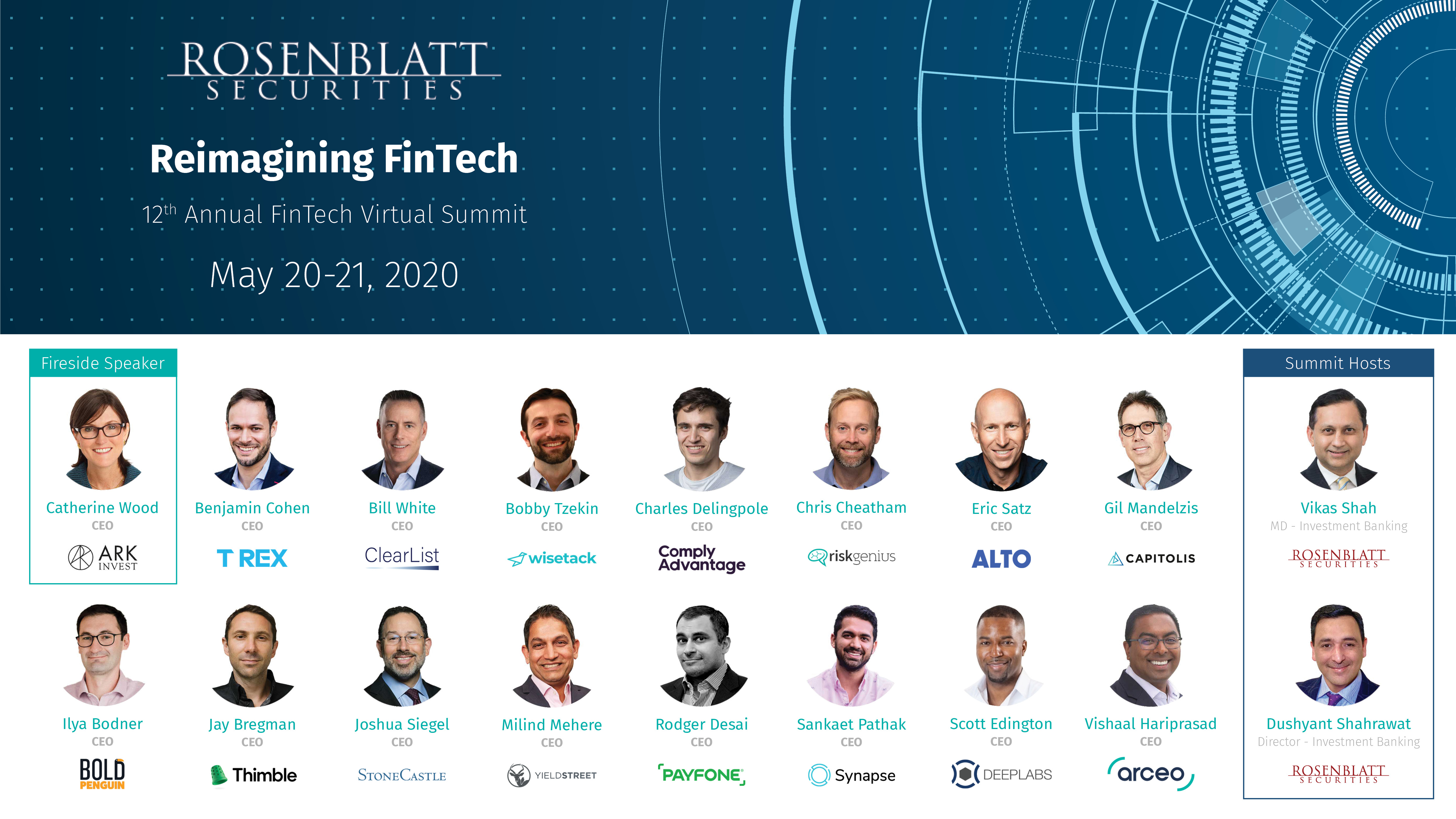 Recapping Our 12th FinTech Summit, Held May 20-21