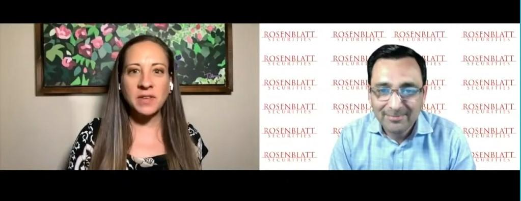 Rosenblatt's Shahrawat Interviewed By Nasdaq
