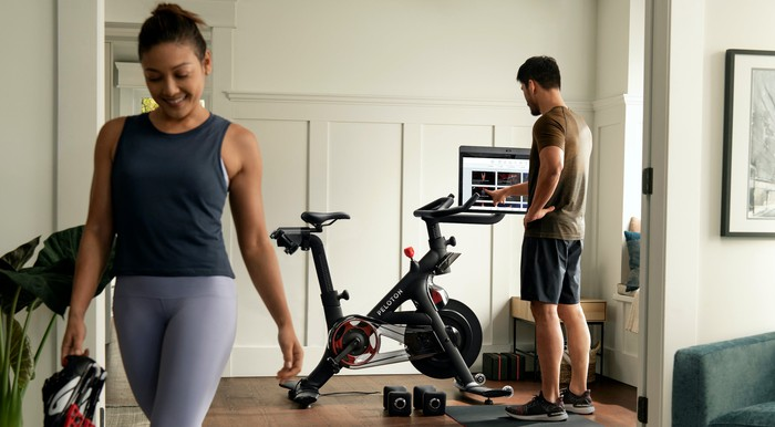Why Peloton Stock Rode Higher Today