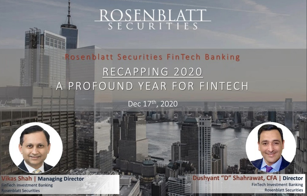 Recapping 2020: A Profound Year for the FinTech Sector