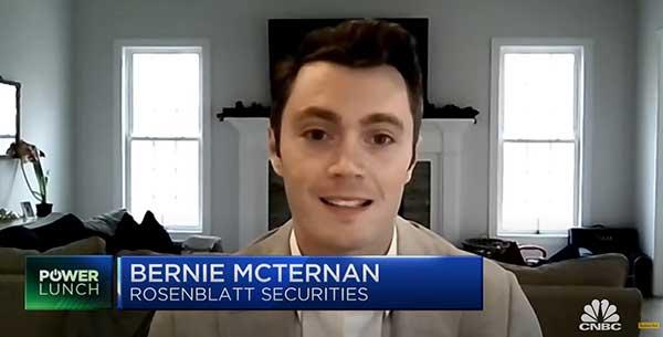 Rosenblatt's McTernan CNBC Interview