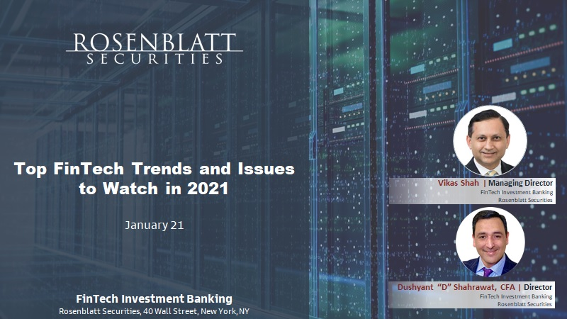 Top FinTech Trends to Watch in 2021 and Beyond