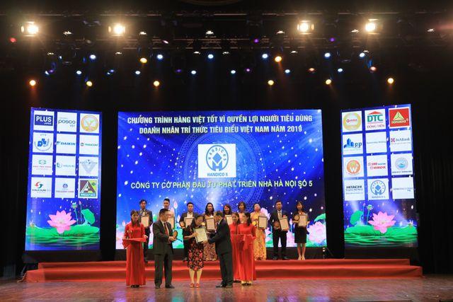 Dự án Hanhomes Giang Biên đạt giải sản phẩm chất lượng vàng 2019 - 1