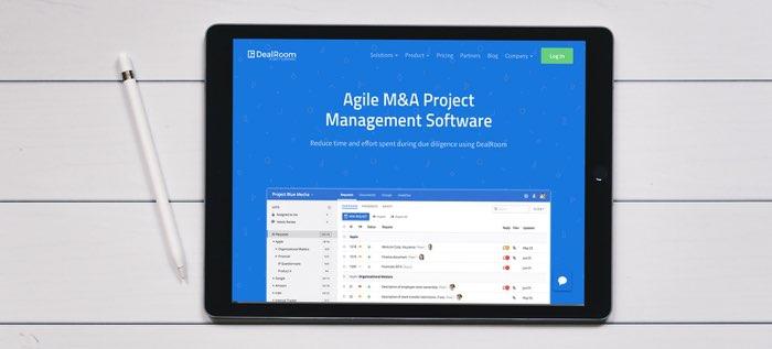 m&a project management software
