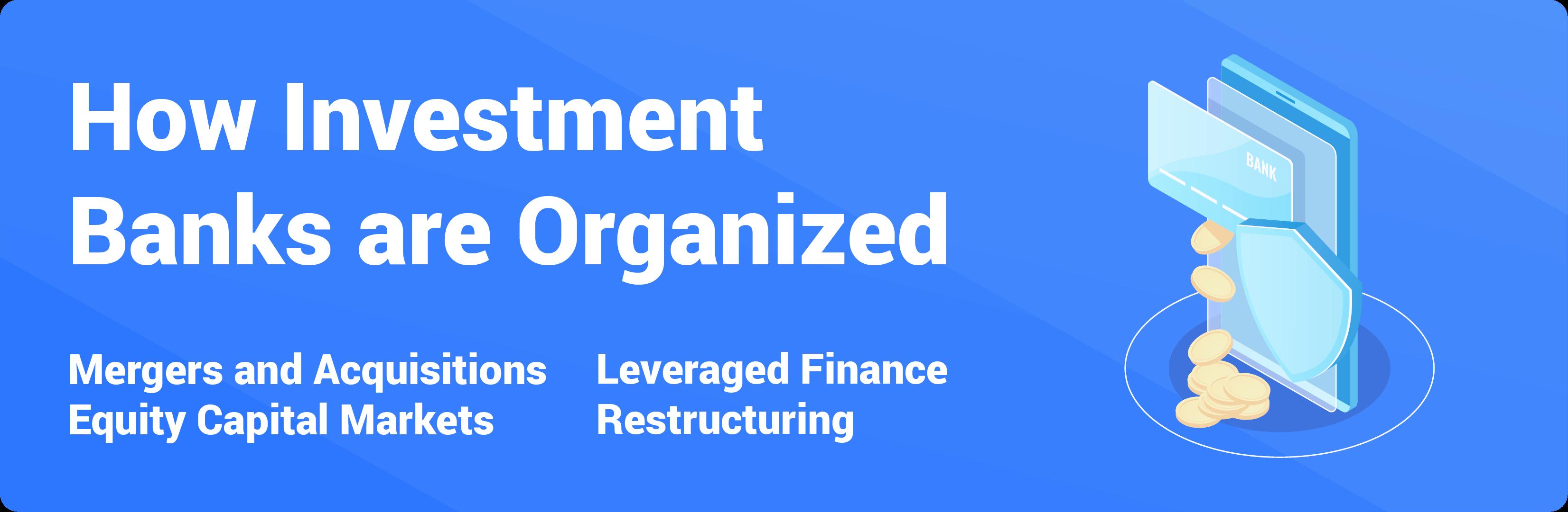 investment banks organization