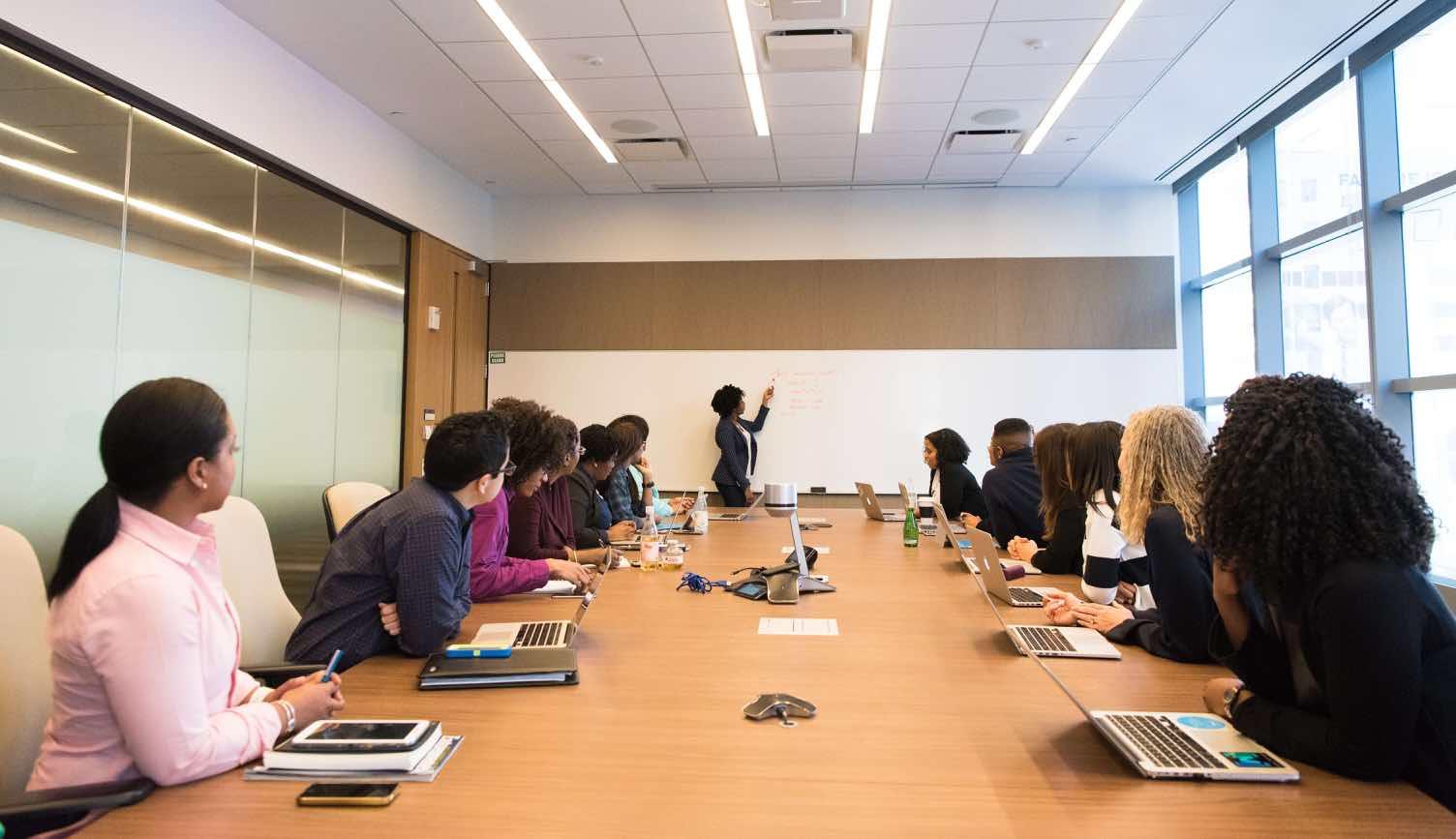 corporate development team meeting
