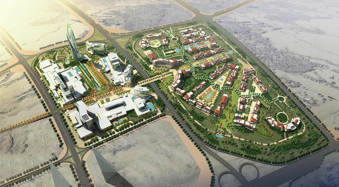 Bawadi Skylines by Quezada Architecture (Fred Quezada, Cecilia Quezada, Ed Tingley)
