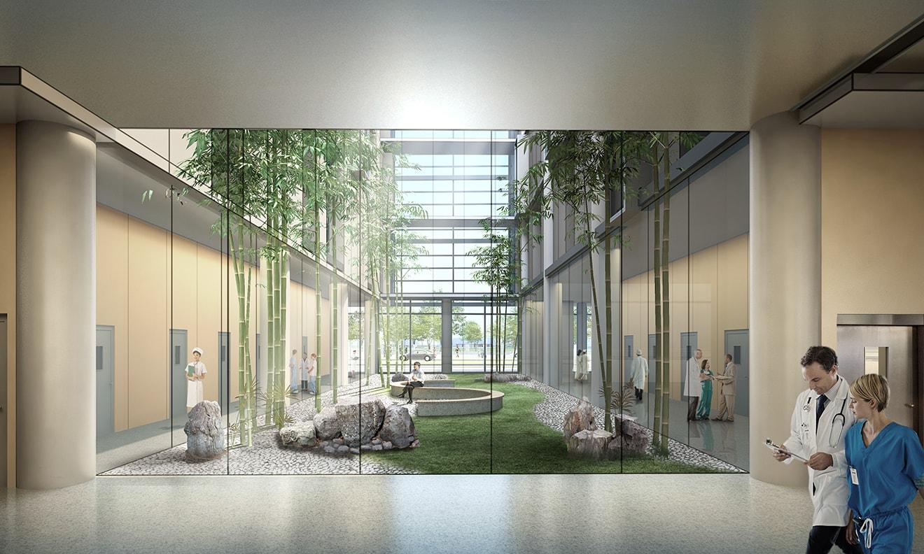 Xuhui Southern Medical Center by Quezada Architecture (Fred Quezada, Cecilia Quezada, Ed Tingley)