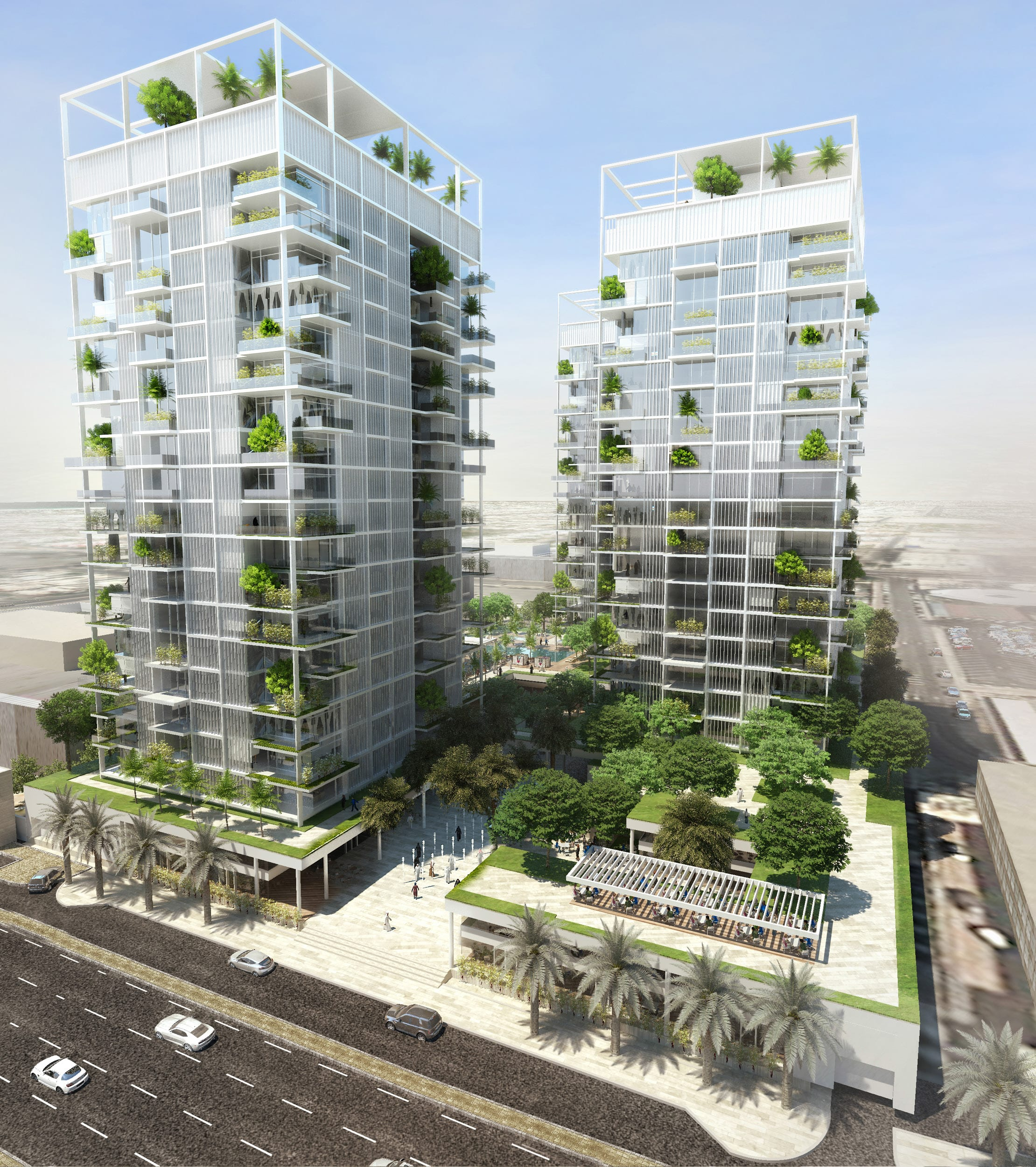 Downtown Towers by Quezada Architecture (Fred Quezada, Cecilia Quezada, Ed Tingley)