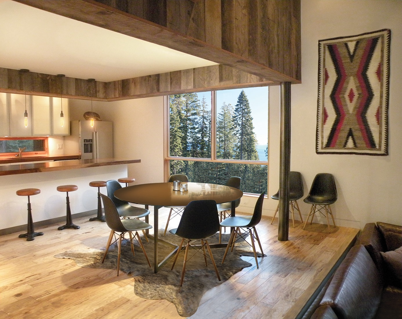 Lake Tahoe Residence by Quezada Architecture (Fred Quezada, Cecilia Quezada, Ed Tingley)
