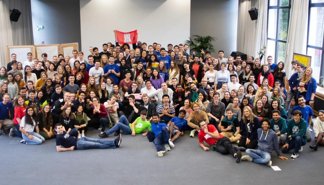 photo of the AIESEC team from germany