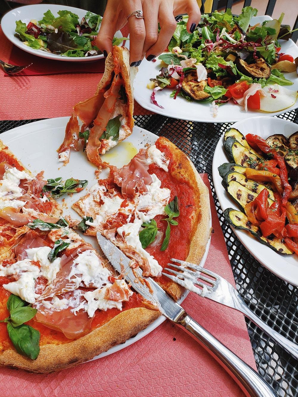 Italienische Pizza ist unschlagbar!