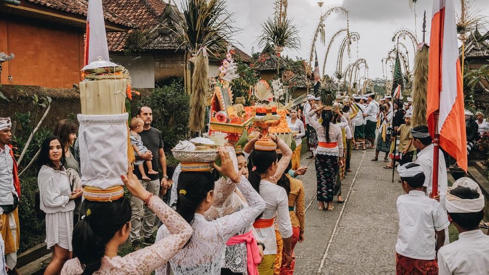 Die Kultur in Indonesien