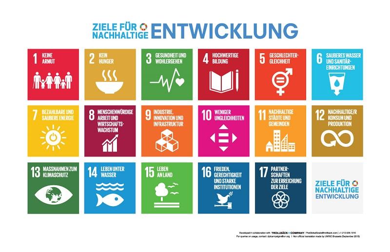 Ziele für nachhaltige Entwicklung (SDGs)