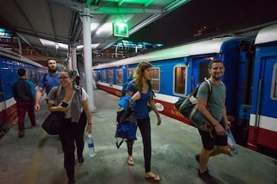 People Travelling the World