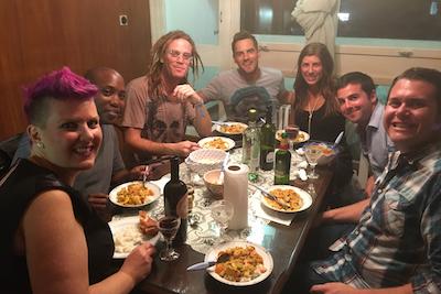 Remote Year Dinner Around the World