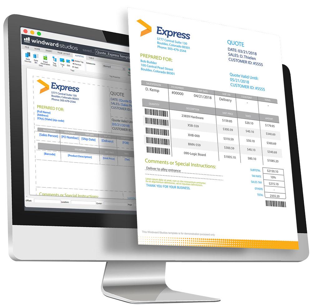windward report designer online edition overview