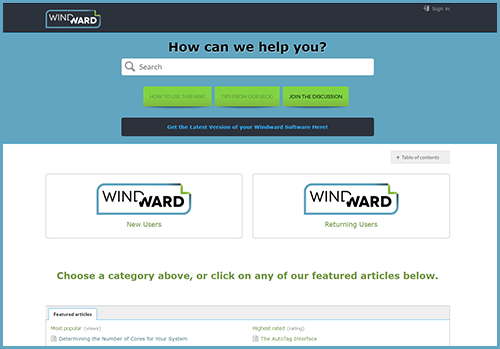 windward documentation wiki