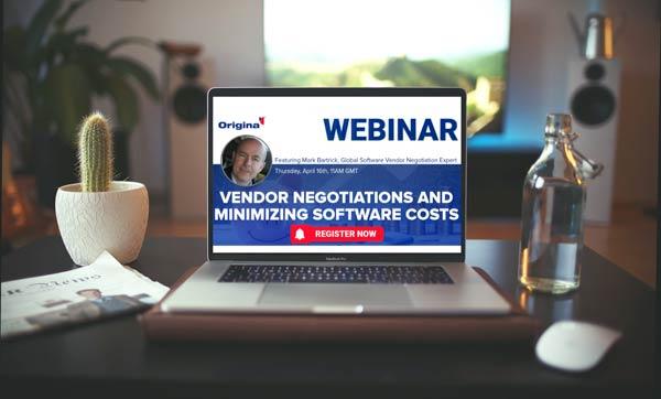 Vendor negotiations and minimizing software costs