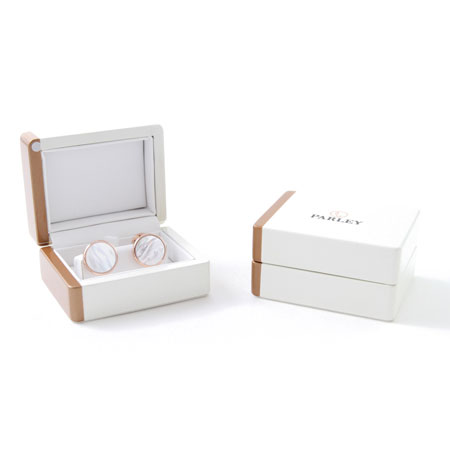 Parley Swiss Made Cufflinks