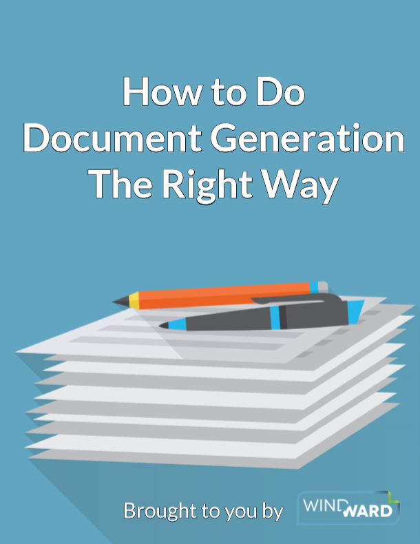 Document Generation Done Right