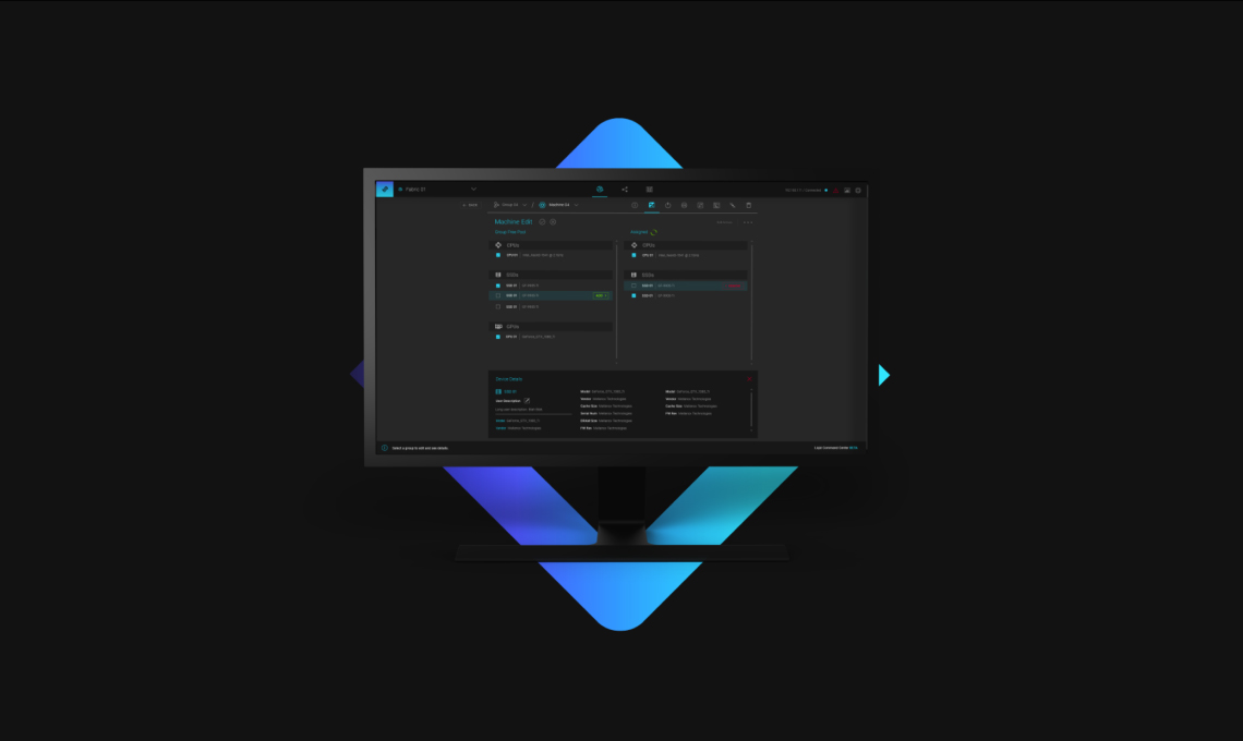 Liqid Command Center™ Software - GPU Hotplug