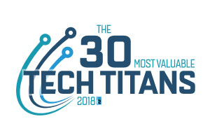 The 30 Most Valuable Tech Titans Logo