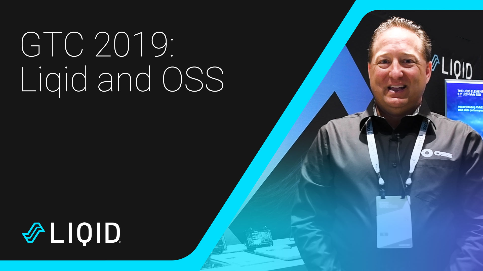 Liqid, the leader in composable infrastructure, and OSS at GTC 2019