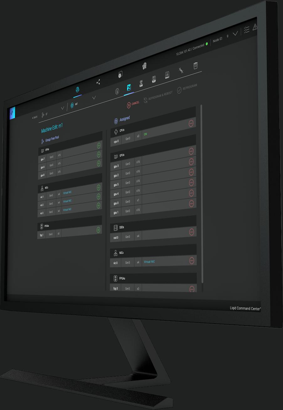 Liqid Command Center™