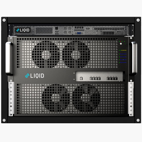 Liqid composable infrastructure A.I. solution LQD8360 GPU Super Pod