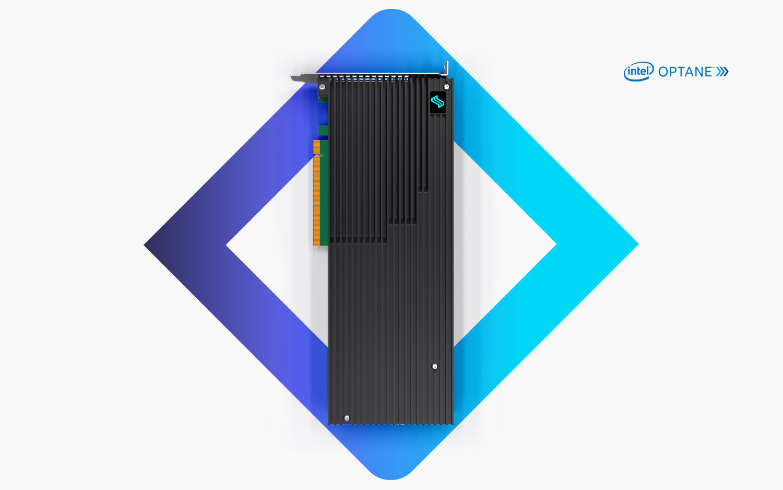 Liqid Element LQD4900 Intel Optane SSD high performance PCIe composable storage