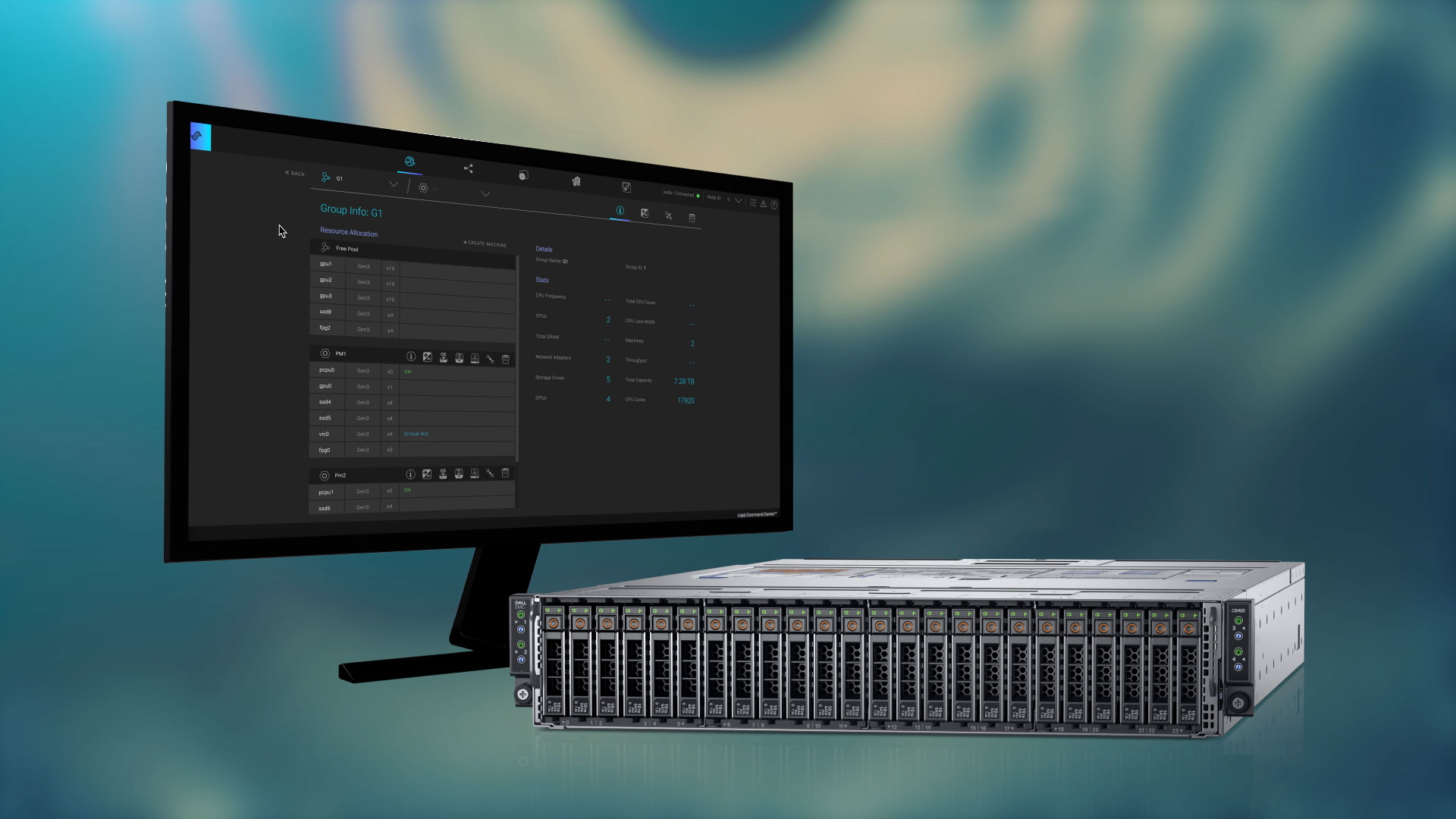Liqid, leader in composable infrastructure and Dell's PowerEdge C6525 Server
