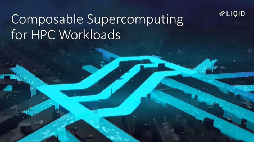 Composable Supercomputing for HPC workloads